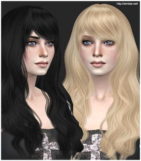 sims  hair images  pinterest hair dos sims