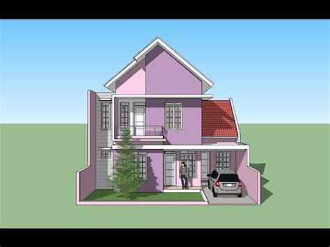 google sketchup  house design youtube
