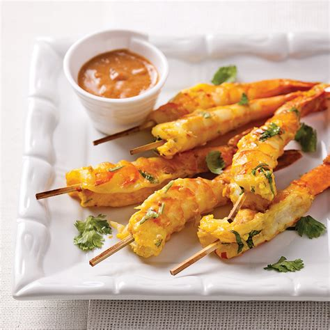 cuisine thailande crevettes jumbo sauce satay recettes cuisine et