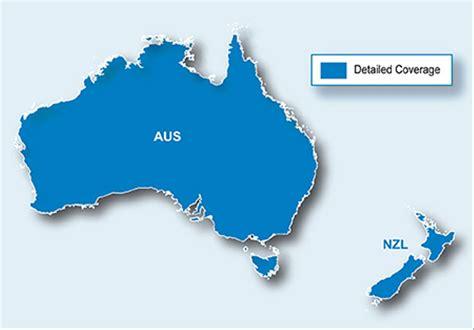 jual peta map navigasi city navigator australia