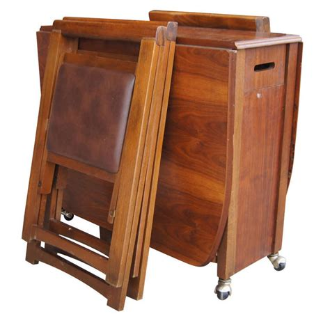 table with chairs that store inside lovable folding table with chair storage inside expandable