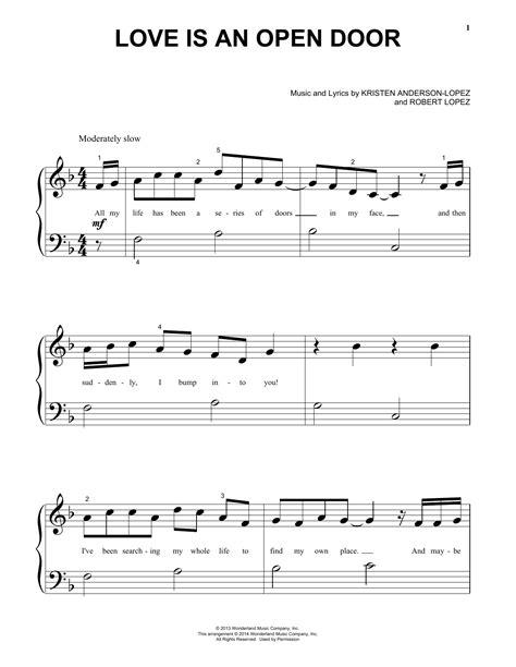 open door notes is an open door sheet by robert piano