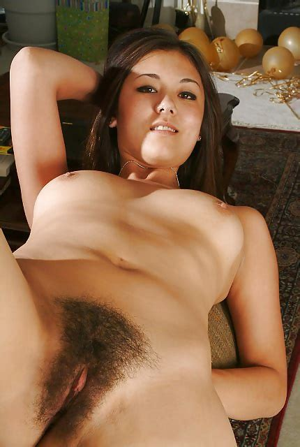 Hairy Halfasian Girl Poses Naked While You Masturbate Pics