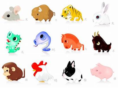 Chinese Animals Clipart Zodiac Outstanding Celebrating Sign