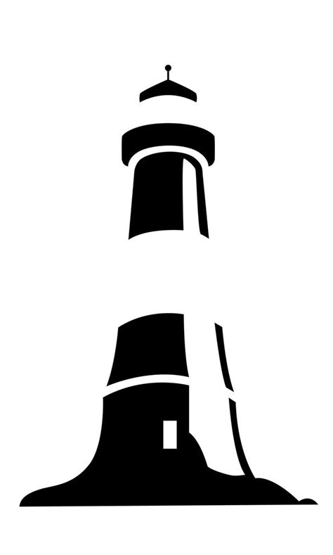 Lighthouse Silhouette Clip Art at GetDrawings.com | Free for personal use Lighthouse Silhouette