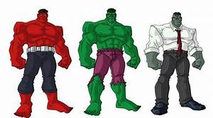 Hulks by vo5 on DeviantArt