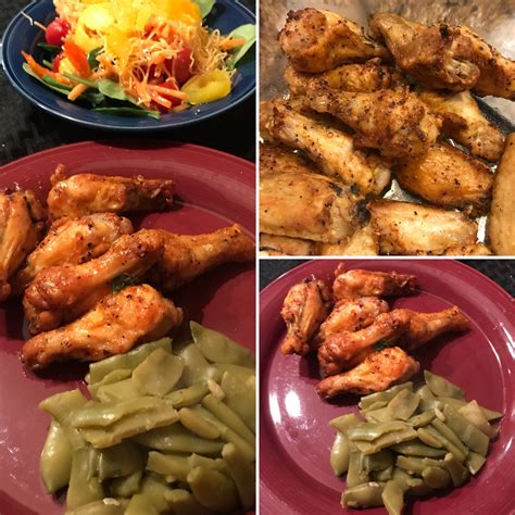 fryer chicken air wings temp cook degrees minutes