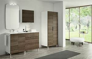 Meuble Vasque Sur Pied : meubles salle de bains modernes en 105 photos magnifiques ~ Teatrodelosmanantiales.com Idées de Décoration