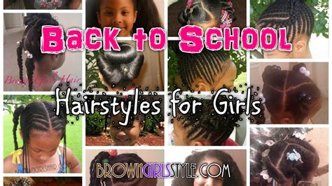back to school hairstyles for black girls hairstyle for