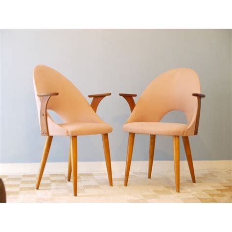 chaises retro chaise vintage style tonneau accoudoirs la maison retro