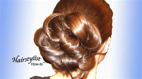 updo hairstyle long hair  wedding