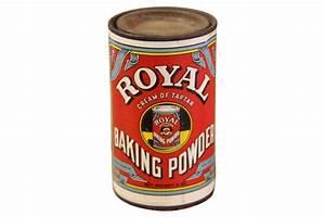 Vintage Royal Baking Powder Can Omero Home