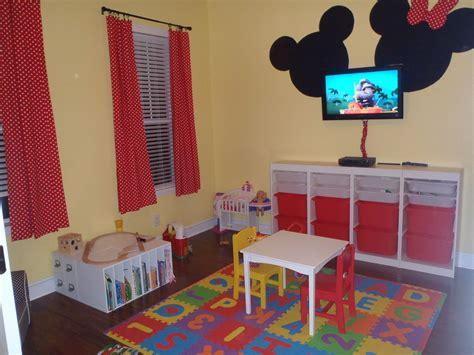 Minnie Mickey Mouse Playroom Kids Room Pinterest