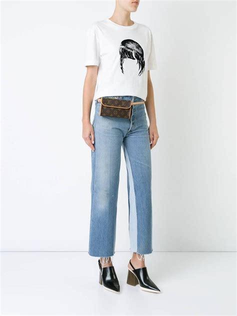 louis vuitton monogram mens womens fanny pack waist belt bag  stdibs