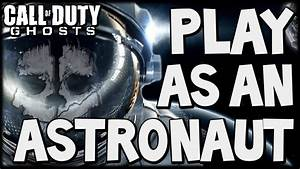 """Call of Duty: Ghosts """"ASTRONAUT CHARACTER SKIN"""" New ..."""