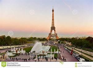 Application Parking Paris : view of the eiffel tower from jardins du trocadero park in paris editorial photography image ~ Medecine-chirurgie-esthetiques.com Avis de Voitures