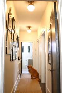narrow hallway gallery wall lighting wall gallery