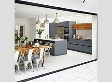Modern grey kitchen Kitchen ideas housetohomecouk