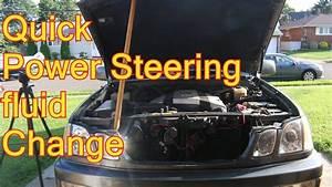 Lx 470 Power Steering Fluid Change