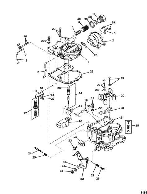 mercruiser lx gm      carburetor