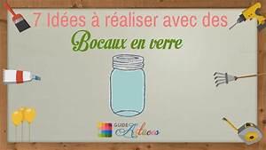 Bocaux En Verre Pour Conserves : 7 id es r aliser avec des bocaux en verre youtube ~ Nature-et-papiers.com Idées de Décoration