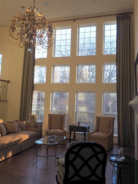 Two Story Window Treatments Ideas   Roy Home Design
