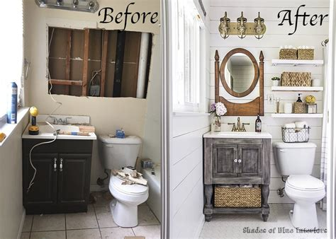 Bathroom Makeovers : Farmhouse Bathroom Makeover