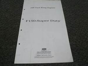 1996 Ford F150 Truck Electrical Wiring Diagrams Manual Xl