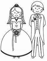 Coloring Bride Groom Button Using Hard Otherwise Grab Welcome sketch template