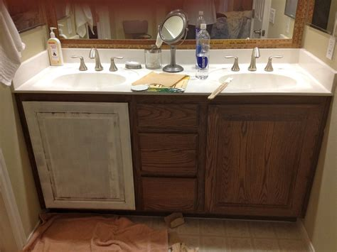 Bathroom Cabinets : Bathroom Cabinet Refinishing Ideas
