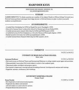 Resume Adjunct Professor Assistant Professor Resume Sample Assistant Resumes