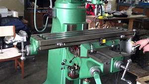 Grizzly Milling Machine Up For Auction