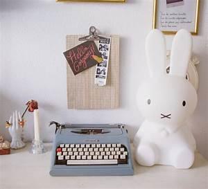Cadeau Noel Ado : lampe lapin enfants miffy original blanc h50cm mr ~ Voncanada.com Idées de Décoration
