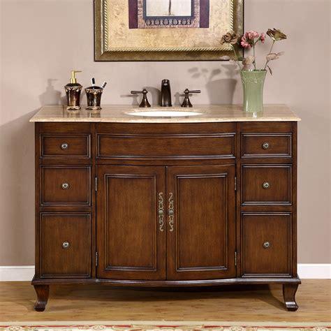travertine countertop bathroom single vanity lavatory