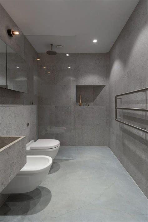 Badezimmer Modern Beton by Der Neue Trend F 252 R Das Badezimmer Betonoptik House
