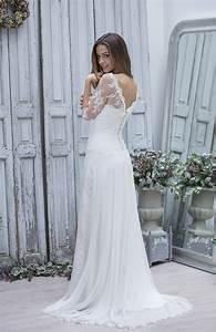 robes de mariee boheme chic le son de la mode With robe de mariée chic et bohème