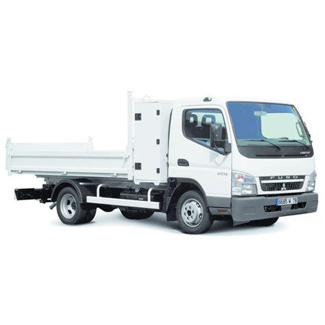 camion benne avec coffre pour outils de chantier mitsubishi fuso