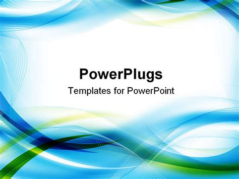 How To Powerpoint Templates From Microsoft by Best Abstract01 Powerpoint Template Abstract Blue