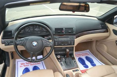 auto body repair training 2004 bmw 325 seat position control sell used 2004 bmw 325ci convertible sport package bucket seats in saint joseph michigan