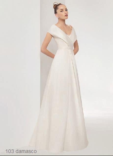 fotos de trajes de novias sencillos