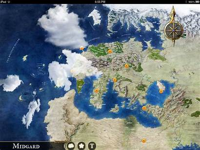 Midgard Map Clouds Mini Atlas Tavern Ipad