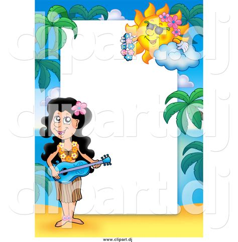 hawaiian border templates    clipartmag