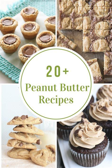 peanut butter recipes  idea room