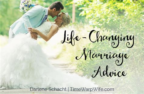 Life-changing Marriage Advice