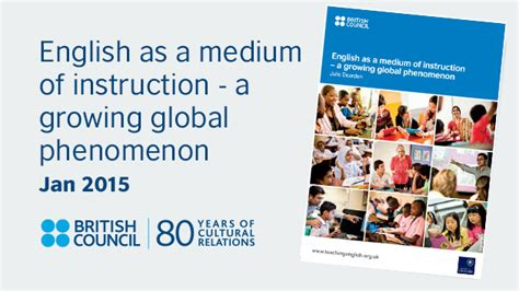 report english   medium  instruction british council