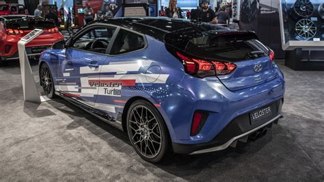 Maybe you would like to learn more about one of these? 2019 Veloster Turbo gets new performance parts at SEMA ...