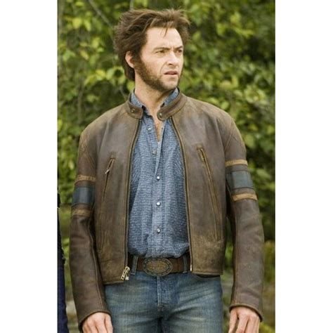 Style X Shop by Style Three Wolverine Origins Brown Leather Jacket