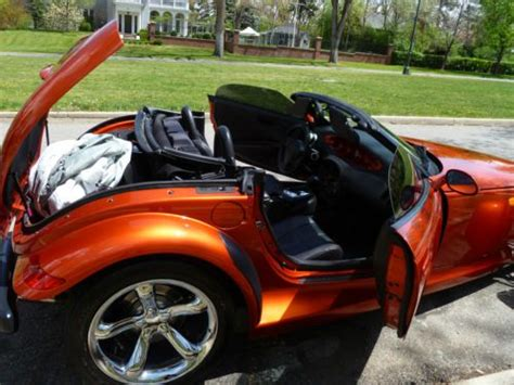 purchase   plymouth prowler base convertible