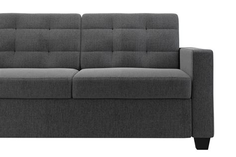Sleeper Sofas With Memory Foam Mattresses by Signature Sleep Mattresses Grey Linen Sleeper Sofa