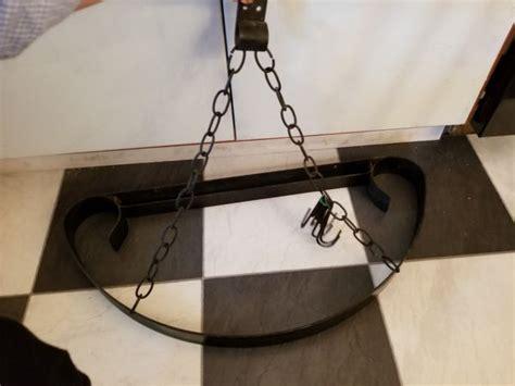 black wrought iron pot rack  sale  aberdeen wa offerup